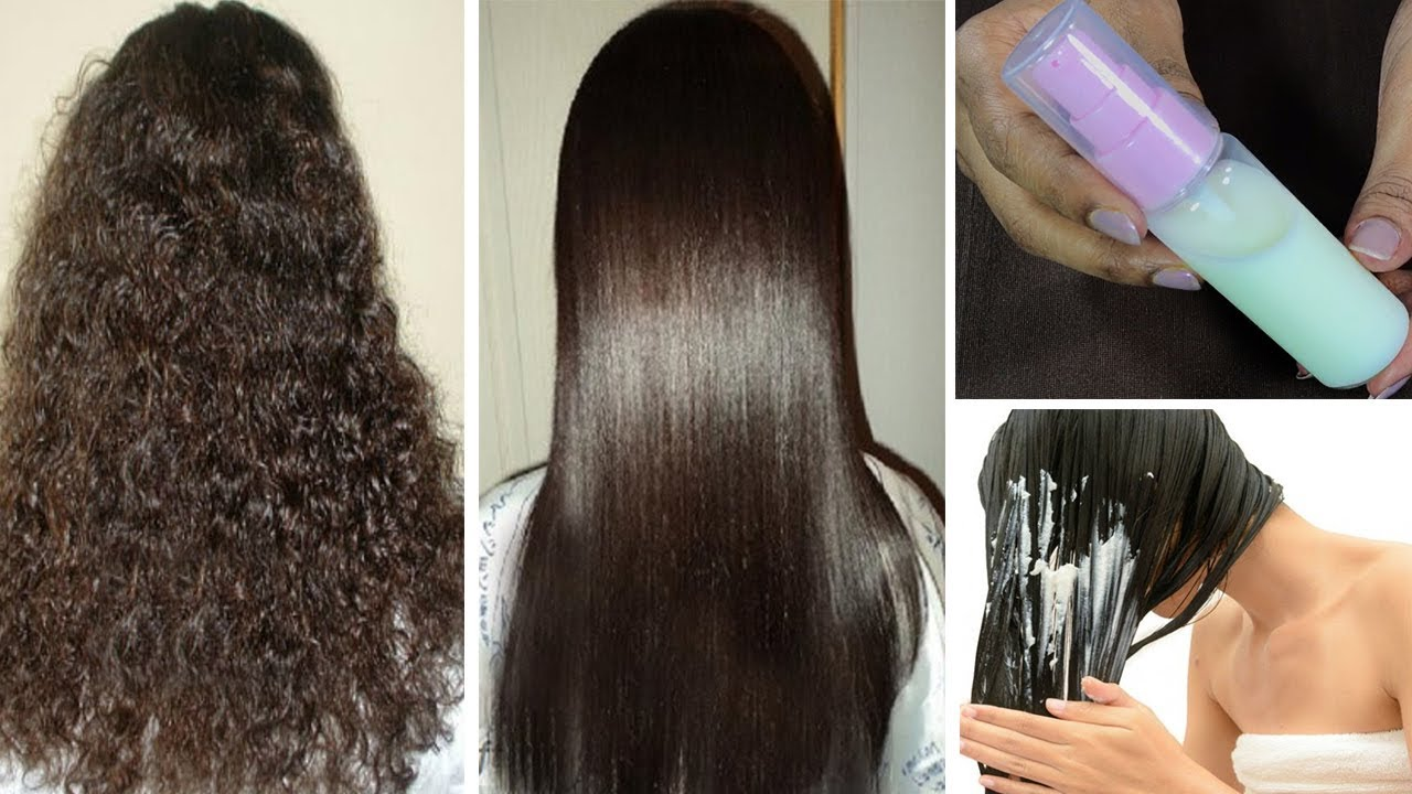How To Get Straight Hair Naturally At Home