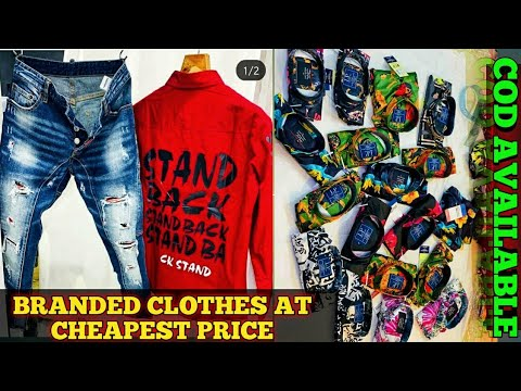 59b3474ffb7b Branded Clothes at Cheap price|Jeans|Lowers|T-shirts - YouTube