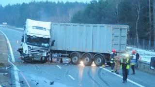 Tragiczny wypadek na autostradzie A4. Kobieta wjechała pod prąd [www.24opole.pl]