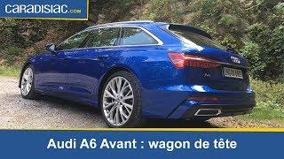 Essai - Audi A6 Avant : wagon de tête