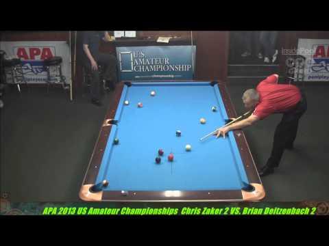 2013 US Amateur Championships Chris Zaker VS  Brian Dietzenbach