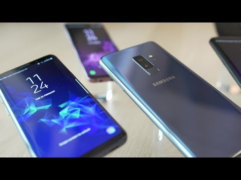 The phones of Mobile World Congress - BBC Click