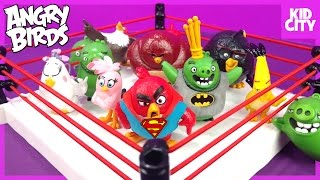 The Angry Birds Movie Shake Rumble Game with Blind Bag MiniFigures by KidCity