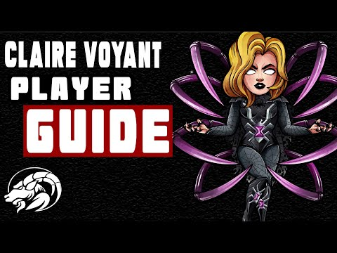 How To Use Claire Voyant Black Widow | First Look Player Guide | MCOC