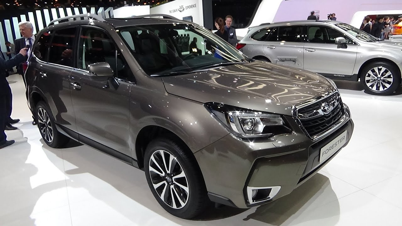 2016 - subaru forester awd luxury - exterior and interior - geneva