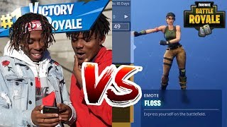 Fortnite Dance Off Challenge!! (In Real Life)
