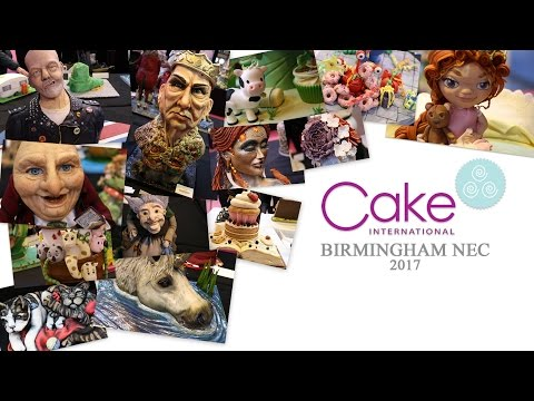 Cake International - Birmingham NEC - 2017
