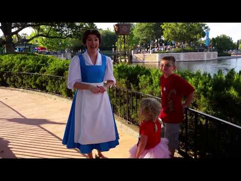 Princess Belle in Epcot