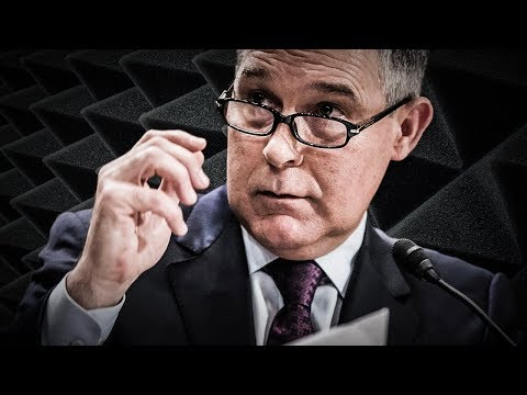 EPA Spends $25K On Soundproof Room For Scott Pruitt To Hold Private Conversations