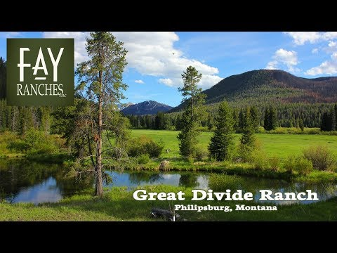 SOLD | Montana Ranch For Sale | Great Divide Ranch | Philipsburg, MT