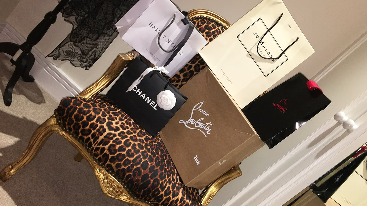 450bf902a53 My Luxury Birthday Haul | Harrods, Chanel, Christian Louboutin, Show Dry