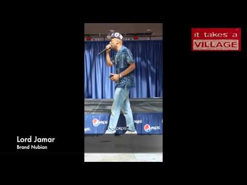 "Lord Jamar from Brand Nubian ""What we must do now ""! - It Takes A Village Stage"