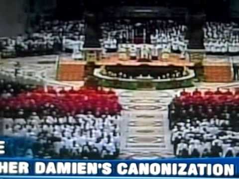 Canonization of Father Damien (part 3)