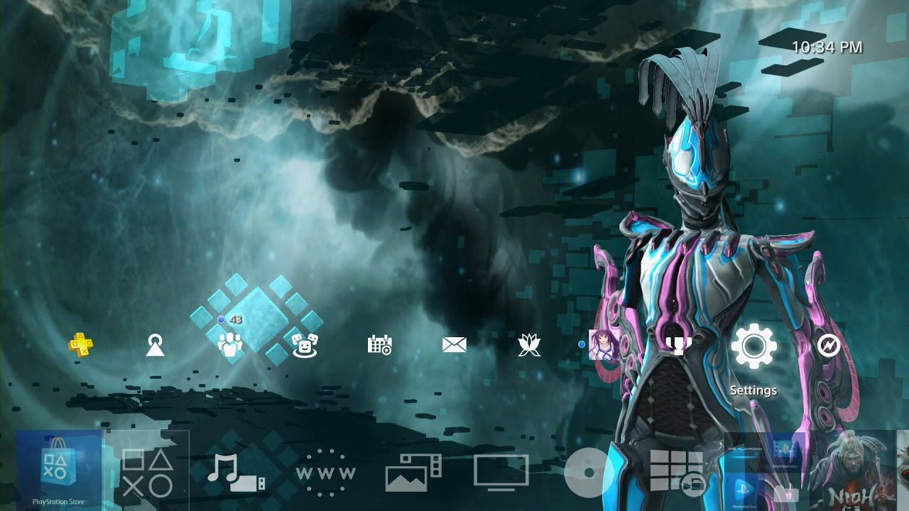 Warframe Octavia Dynamic Theme PS4 YouTube