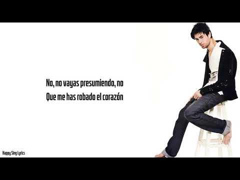 EL PERDEDOR - ENRIQUE IGLESIAS FT. MARCO ANTONIO SOLIS (Lyrics)