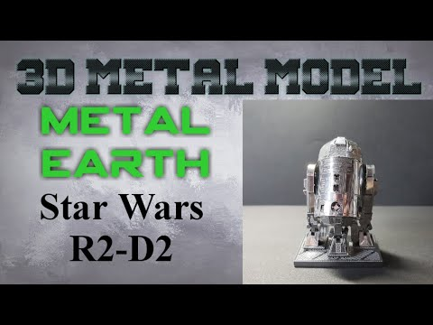 Metal Earth Build - Star Wars R2D2