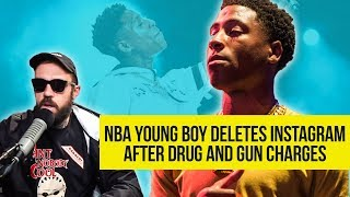 NBA Youngboy Deletes Instagram after Drug & Gun Charges