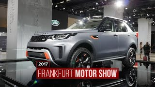 Land Rover Discovery SVX is ready for dirt action