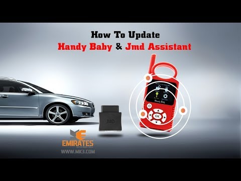 """WWW.MK3.COM"" How To Update Handy Baby & JMD Assistant"