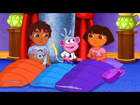Dora and Friends the Explorer Cartoon ► Good Night, Dora! A Lift the Flap Story Paperback!
