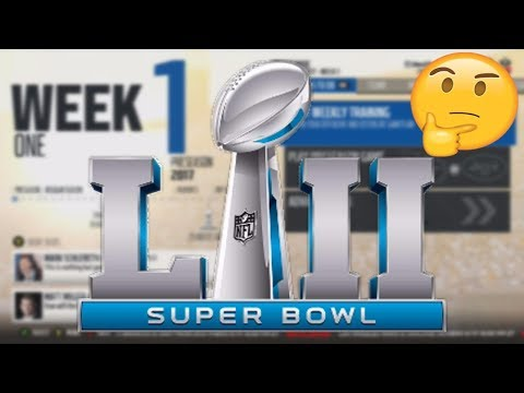 Who Does Madden 18 Think Will Win the Super Bowl? *SURPRISING RESULTS*