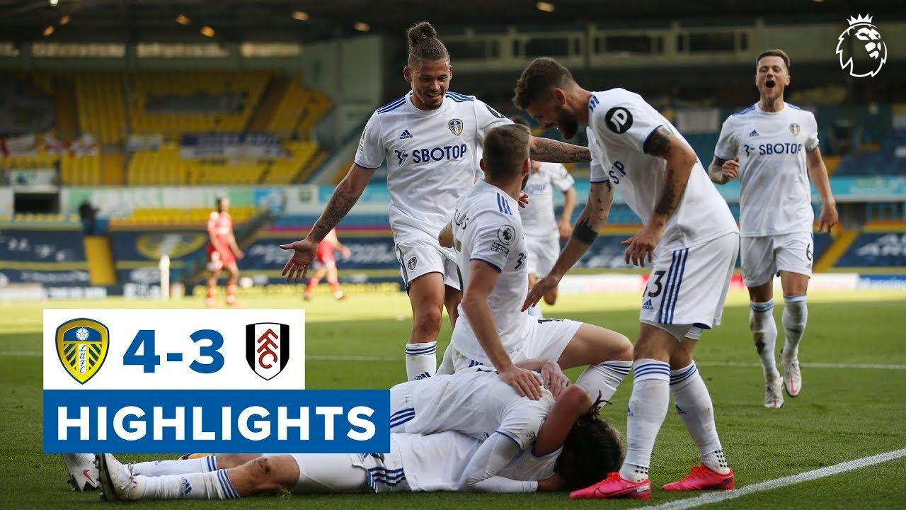 Highlights   Leeds United 4-3 Fulham   2020/21 Premier League - YouTube