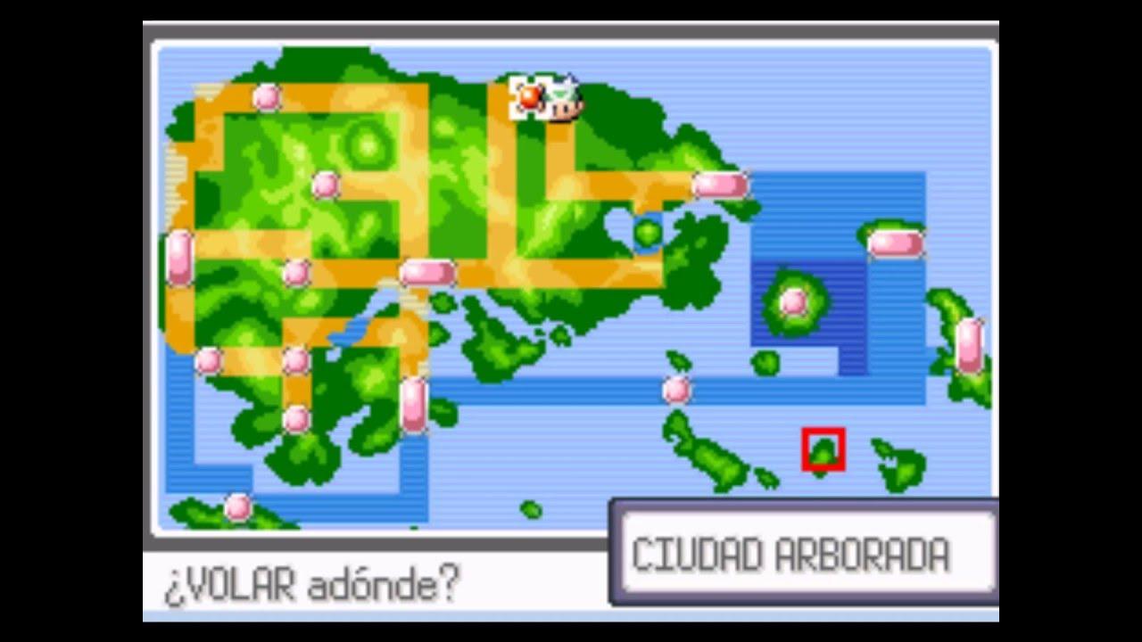 partidas guardadas de pokemon esmeralda en espaol gba