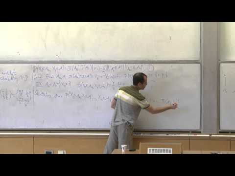 Elchanan Mossel at Technion - Mathematics lecture 3