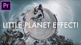 (Yüksek Omni 360° VR Cam) (CC 2017 Öğretici) Adobe Premiere Pro'da KÜÇÜK bir GEZEGEN Oluşturmak için