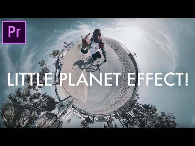 How to Create a TINY PLANET Effect in Adobe Premiere Pro (CC 2017 Tutorial) (GoPro Omni 360° VR Cam)