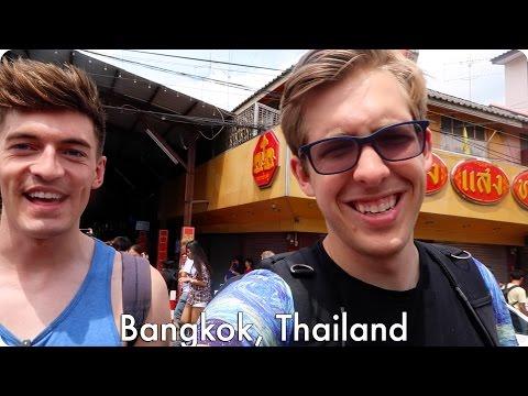 The Floating Market in Thailand! | Evan Edinger Travel