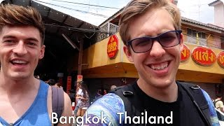 The Floating Market in Thailand!   Evan Edinger Travel