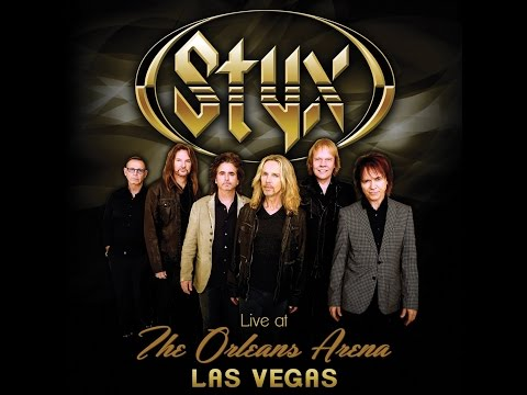 STYX - LIVE AT THE ORLEANS ARENA LAS VEGAS (The 2016 Lawrence Gowan interview)