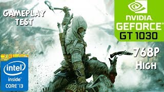 Assassins Creed 3 Gameplay Test on GT 1030 - Core i3 6100 - 8GB RAM