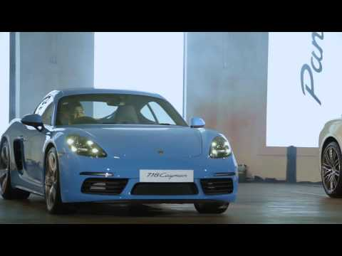 Porsche Indonesia Launches The New 718 Cayman and The New Panamera