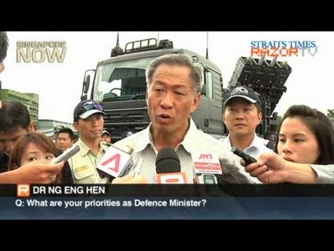 Q&A with Dr Ng Eng Hen