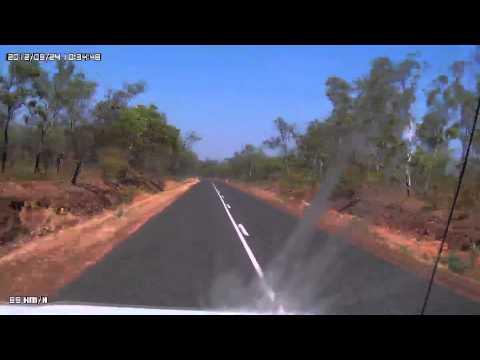 Video 235-Kakadu Highway-Jabiru to Nourlangie Rock Art Site