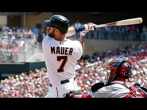 Joe Mauer 2017 Highlights