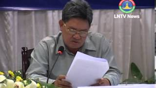 Lao News on LNTV-The global 2013 Human Development Report reveals Laos makes progress 25-03-2013