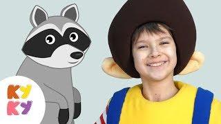 ЗВЕРУШКИ - КУКУТИКИ развивающая детская песенка как говорят животные для детей, малышей