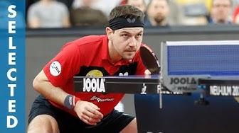 Timo Boll vs Bastian Steger (TTBL Selected)