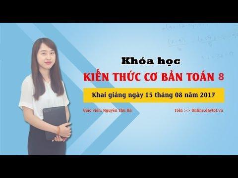 Ứng dụng của hệ thức Vi-ét  ( Toán lớp 8 )   -   Cô Nguyễn Thu Hà