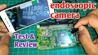 Giveaway Endoscopic camera for electronic components inspection snake camera review