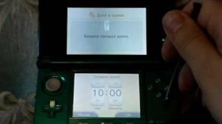 Видео-обзор Nintendo 3DS. На русском :)