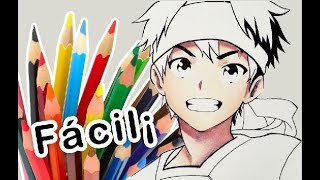 How to color anime skin with wooden colors