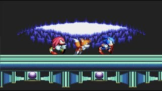Team Sonic in Hidden Palace Zone