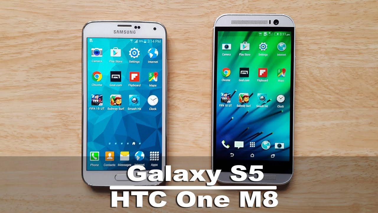 HTC One M8 vs Samsung Galaxy S5 Speed Test & Comparison ...Htc One Max Vs Galaxy S5