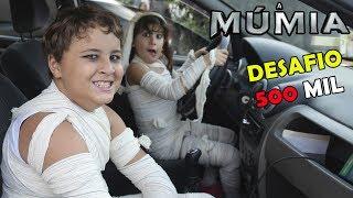 FUI ASSISTIR O FILME DA MÚMIA DE MÚMIA! - Desafio dos 500 mil inscritos parte 1