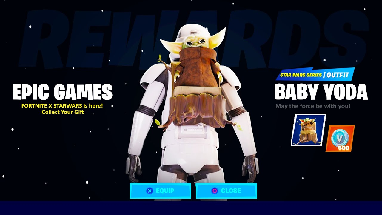 How To Get The Baby Yoda Backbling In Fortnite Chapter 2 Fortnite X Star Wars Youtube A collection of the top 79 baby yoda wallpapers and backgrounds available for download for free. how to get the baby yoda backbling in fortnite chapter 2 fortnite x star wars