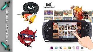 Data Frog = PSP / Vita Clone NEW Model & Touchscreen Handheld Review
